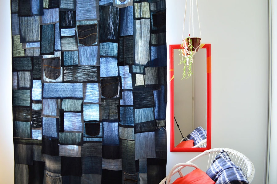 recycler ses vieux jeans diy apr s la flemme. Black Bedroom Furniture Sets. Home Design Ideas